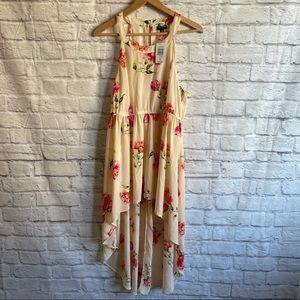 TORRID Floral High Low Dress NWT